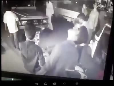 Man falls off building in Kerala Kochi