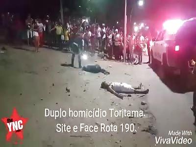 two shot dead  in Toritama, Pernambuco