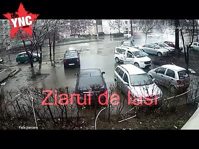 accident in  Romania