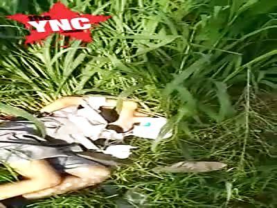 The discovery of a body near  Gg. Kancil, Ragunan, Ps. Minggu, Kota Jakarta Selatan, Daerah Khusus Ibukota