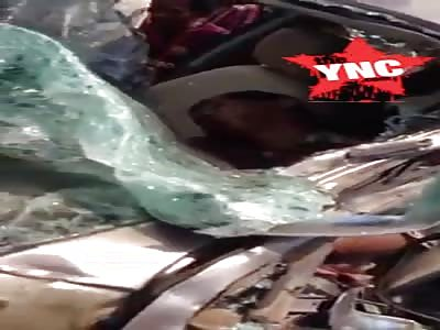 A terrible accident in  Memot, Tbong Khmum