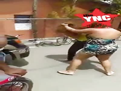 Neighbor fight in Argentina