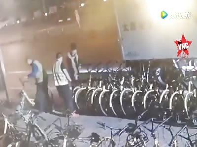 parking dispute in Taiyuan