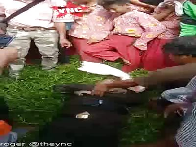 Body discovery    in Kisaran, Sumatera Utara