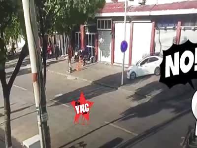 mr lee crushed and killed miss Li at No. 194 Shuguang Road, Shipu