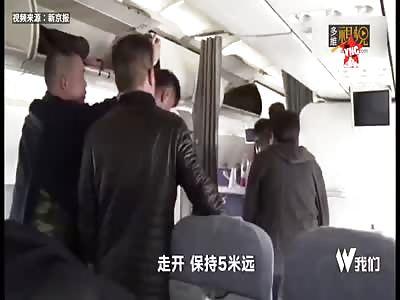 Xu Xuan Hijack Aircraft took a woman hostage  at the Beijing Capital Airport