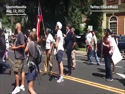 White patriots jump jigaboo