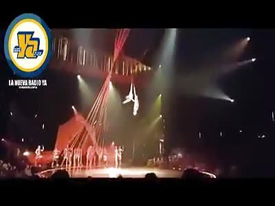 Cirque du Soleil acrobat falls to death