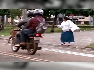 (Repost) GOAT vs MAN ...Angry Goatzilla!