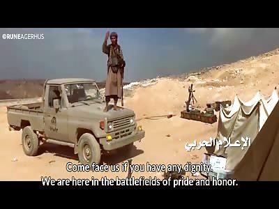 Flames of War - Yemeni Huthi Shia fighting Saudis + Nasheed [EngSub]