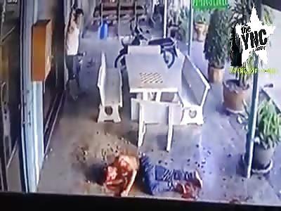 Gang members brutally beat boy in thailand