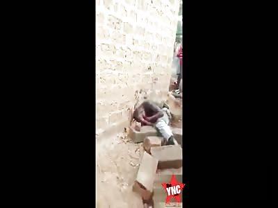 Shocking - Man is brutally killed by lynch mob