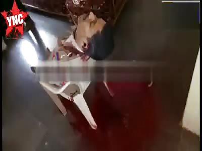 Man shot himself dead