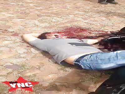 Thug was shot dead