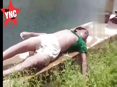 Dead boy found in a river