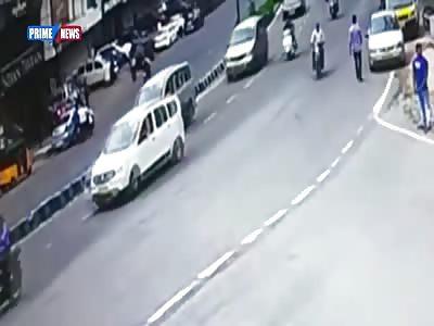 Speeding car rolls over killing the driver