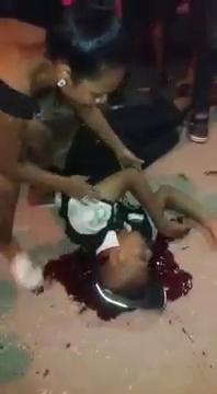 Brazilian Girl Cries Over Her Newly Deceased Boyfriend