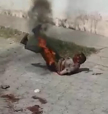 Murderer Brutally Burned Alive