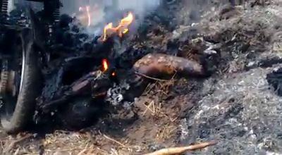 Burning Corpse Found in Pernambuco, Brasil