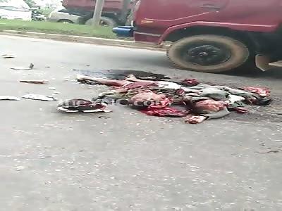 Short Video of Brutal Accident Aftermath