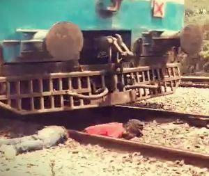 Indian Man Got Cut in Half on The Railroad Tracks