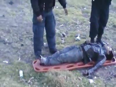 lifting of a body found lifeless
