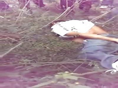 Man throws himself off the bridge and dies