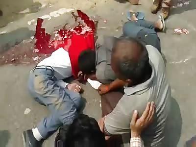 Student run over