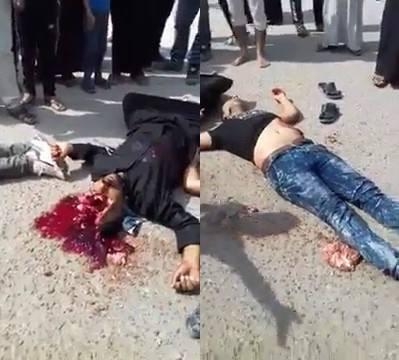Triple murder in Iraq