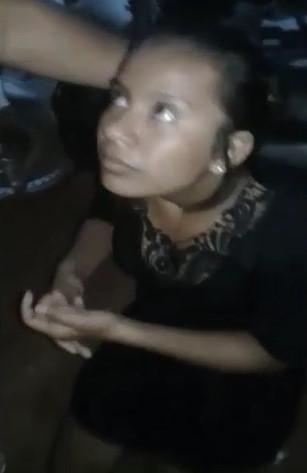 Girl Beaten for BITCH !