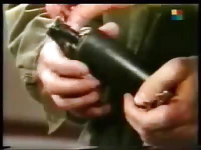 Blasting of hand of the Argentine actor César pierri
