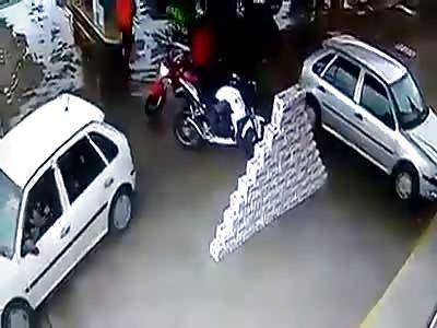 Assault on Gas Station