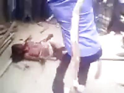 Bangladesh low cast girl beaten to death