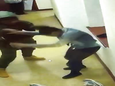 Fighting in school