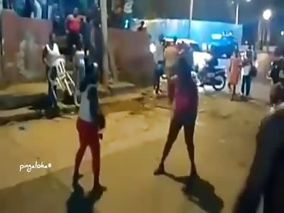 Street fight girls