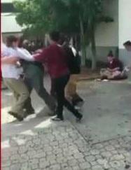 Real Video of Nikolas Cruz (School Shooter) Being Beaten up in 2016