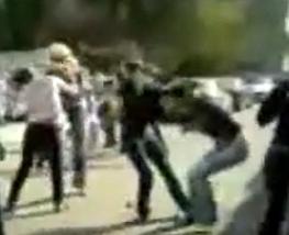 Gang of Cute Russian School Girls Attack Rivals at School
