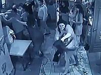 Men Beat Up Women in a Drunken Brawl at a Ukrainian Restaurant
