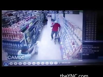 Off Duty Cop Receives Multiple Shots Inside Supermarket