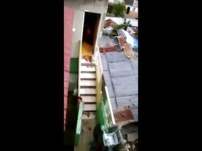 Bad Mother Caught on Camera Beating, Kicking, Choking her Kid