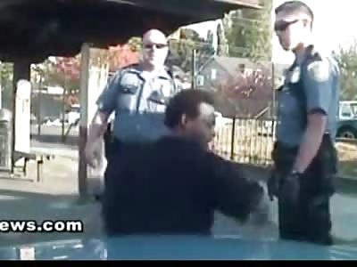 Cop Chokes and Beats Belligerent Black Man