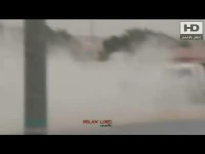 Final Drift for Arab ... Drifts into Big Rig Truck