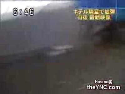 Tank Attack in a Hotel