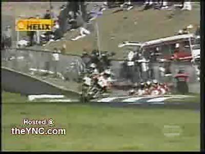 Crazy Bike Crash