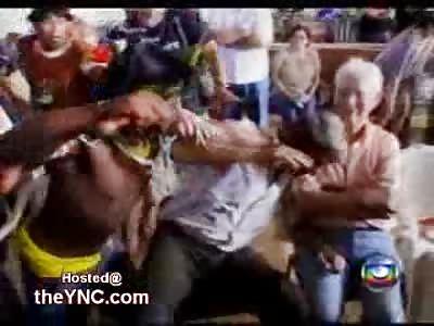Indians attack a Brazilian Speaker