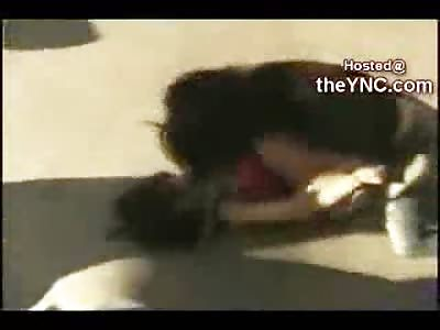 Epic Emo Girlfight at Skatepark Ends in Humiliation