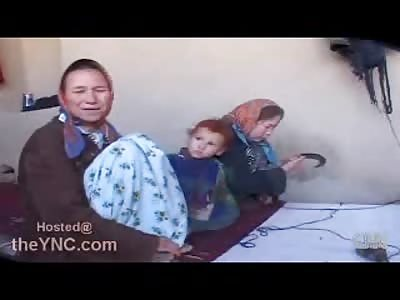 Mothers in Afghanistan Feed their Kids Opium for Breakfast..Literally