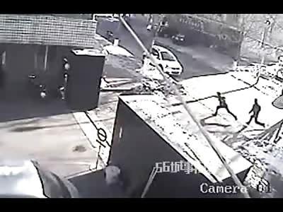 Man Beaten to Death on the Street by Hitmen Using Baseball Bats