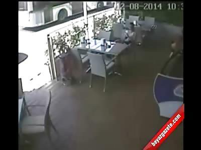 Woman Enjoying her Lunch Witnesses Elderly Woman Killed by Speeding Car