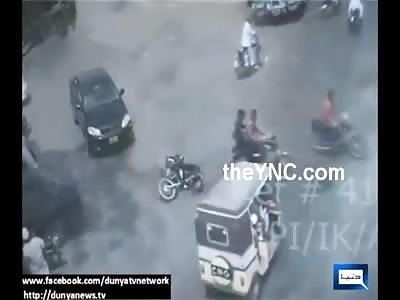 Point Blank Bike to Bike Murder